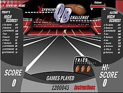 Xtreme QB Challenge oyunu