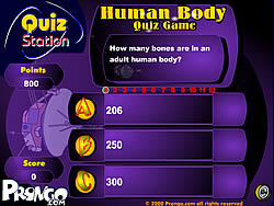 Human Body Quizz Game
