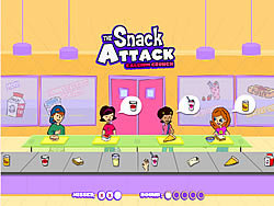 Gioca gratuitamente a The Snack Attack - Calcium Crunch