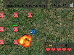 Tank Defense game