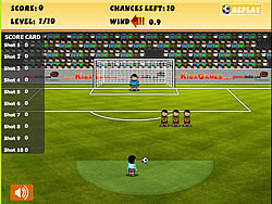 Best Free Kick game