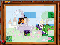 Sort My Tiles Dora the Queen