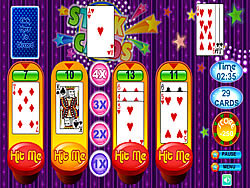 Stack Cards game