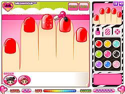 無料ゲームのSami's Nail Studioをプレイ