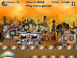 Steampunk Rally game
