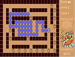 無料ゲームのCaray Snakeをプレイ
