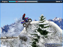 Snow ATV game