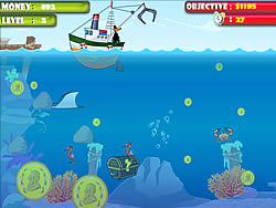 Treasure Hunter in the Sea Spiel