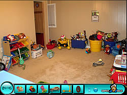 jeu Hidden Objects - Toy Room