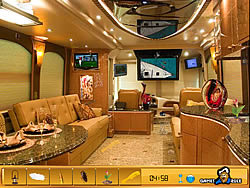 jeu Hidden Objects - Luxury Bus