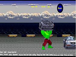 Hulk's Car game