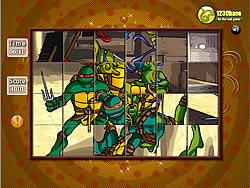 玩免费游戏 Spin N Set - Ninja Turtle