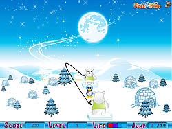 Jumping Pingus game