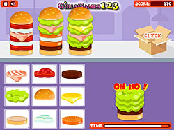 Yummy Burgers game