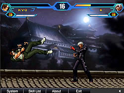 Gioca gratuitamente a King Of Fighters Wing