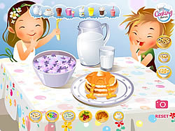 Cute Breakfest game