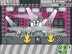 無料ゲームのMake A Scene: Rock Tourをプレイ