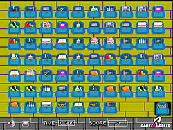 Back To School Memory game