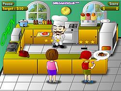 เล่นเกมฟรี Diner Chef