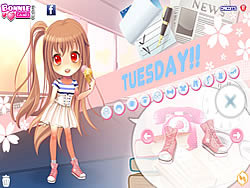 Juega al juego gratis Tuesday Dress Up