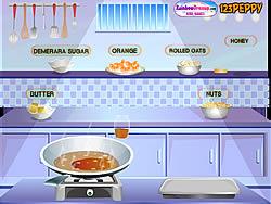 Nutty Orange Flapjacks game