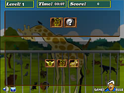 Juega al juego gratis Brain Power - Zoo
