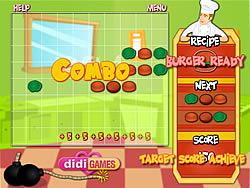 無料ゲームのBurger Masterをプレイ