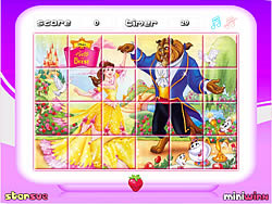Princess Belle - Rotate Puzzle game