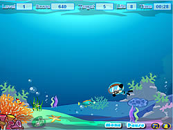 Sea Cleaner игра
