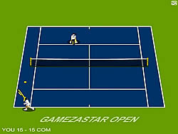 Gamezastar Open Tennis game