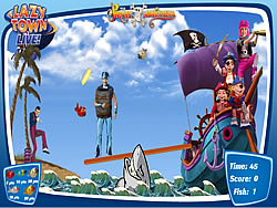 Game Lazy Town - The Pirate Adventure