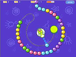 玩免费游戏 Zuma Planet