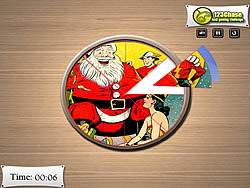 Pic Tart - Santa Claus game