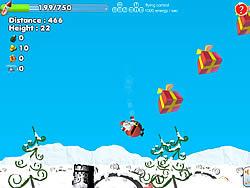 Jouer au jeu gratuit Santa Can Fly