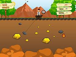 玩免费游戏 Ben 10 Gold Miner