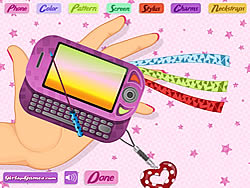 Juego Mobile Phone Decoration