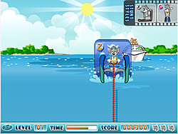 Tom and Jerry Super Ski Stunts game