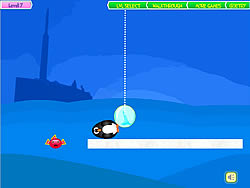 Juego Penguins Fun Fall