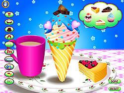 無料ゲームのIce Cream Cone Funをプレイ