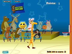 Giraffe Basketball игра