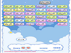 Cloud Breakout game