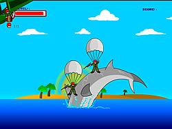 Shark Rampage game