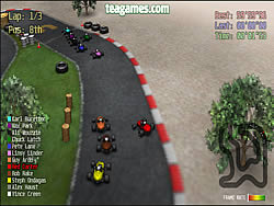 Red Kart Racer spel