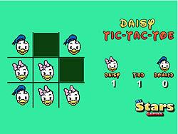 玩免费游戏 Daisy Tic Tac Toe