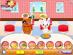 Pet Food Restaurant spel