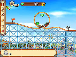 Juega al juego gratis Rollercoaster Creator 2
