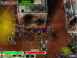 American Tank Zombie Invasion game
