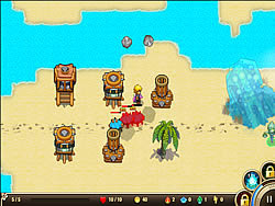 Castaway Island Tower Defense game