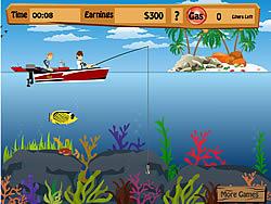 無料ゲームのBen 10 Fishing Proをプレイ