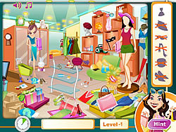 Shopping Frenzy game